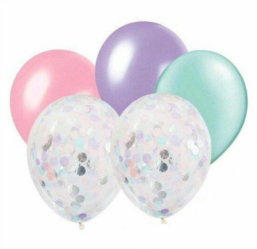 5pcs-12inch-confetti-balloons-10inch-pink-mint-latex-balloon-wedding-decoration-birthday-party-balloons-baby-shower