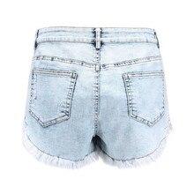 Denim Loose Short Pants PU27