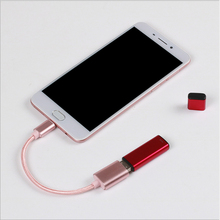10pcs Micro usb To Female USB Host Cable O T G Adapter for Lenovo  Xiaomi Tablet Android Reader Phone