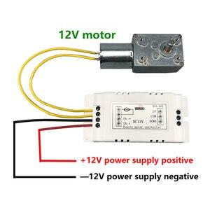 Image 3 - Беспроводной пульт дистанционного управления 433 МГц, радиочастотный передатчик, приемник, dc 9 в 12 В, моторный аккумулятор, усилитель вперед, назад, Рулевое управление