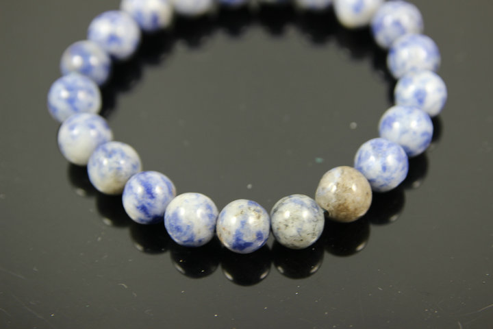 Fashion Natural Blue Stone Men Bracelet 4