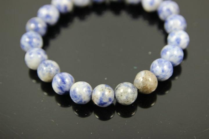 Fashion Natural Blue Stone Men Bracelet 4