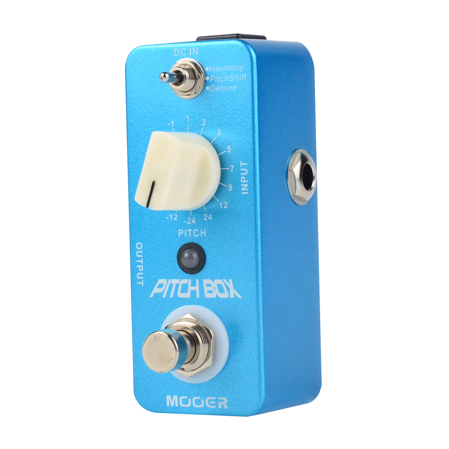 Mooer Pitch Box Guitar Effect Pedal Detune Harmony Shift Effect Modes True Bypass MPS1 aroma adr 3 dumbler amp simulator guitar effect pedal mini single pedals with true bypass aluminium alloy guitar accessories