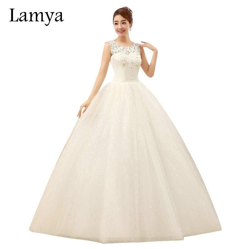 Lamya Plus Size Lace Wedding Dress 2017 Unique Top Elegant
