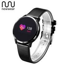 Newwear Q8 Color Touch Screen Smartwatch Smart 1080P Watch Men Women IP67 Waterproof Sport Fitness Wearable Devices Electronics