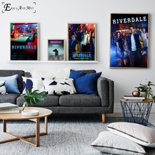 Riverdale Original TV Series Show Cotton Canvas Art Print Painting Poster Wall Pictures Home Decoration Decor No Frame