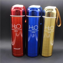 500 ML edelstahl thermocup Isolierflasche Thermos Tee Kaffeetasse insulated Home Reise thermosflasche Drink