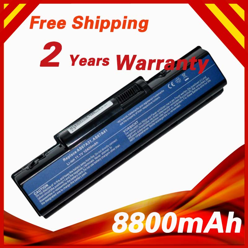 8800mAh 10.8v Laptop Battery For Acer AS07A31 AS07A41 AS07A51 AS07A71 Aspire 2930 4310 4530 4710 4730 4920 5735 5738 5740 5740G voennoplennye v shaxterske 31 07 2014