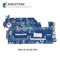 NOKOTION Per Acer aspire E5-531 E5-571 E5-571P Madre Del Computer Portatile Z5WAH LA-B161P NBML811004 MAIN BOARD SR1EF I5-4210U CPU