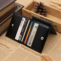 Fashion Oil Wax PU  Leather Multi function Dollars 3 Folds Money Clip 2 Color On Sale