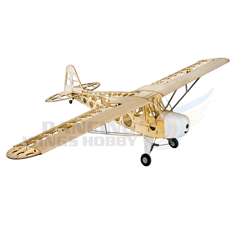 RC Plane Piper Cub J3 Airplane Model 70″ Balsa wood Aircraft Aeromodellin 4CH Electric Powered Remote Control Airplane Toy