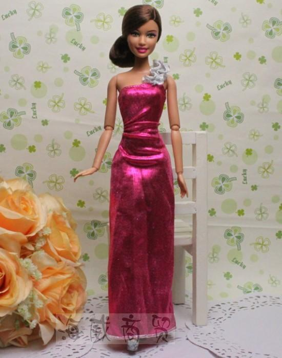 New handmade 2014 beautiful doll clothes, for barbie doll dress ...