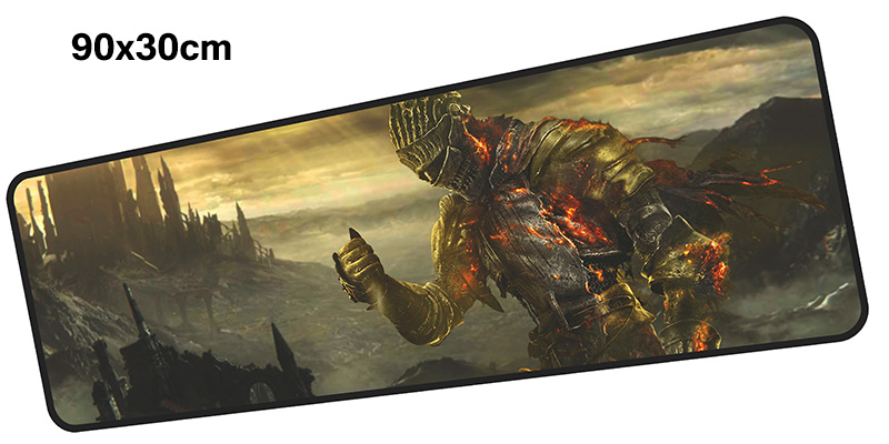 dark souls mousepad gamer 900x300X3MM gaming mouse pad large High-end notebook pc accessories laptop padmouse ergonomic mat
