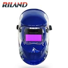 RILAND Mask Eagle Solar Auto Darkening TIG MIG ARC Welding Helmet