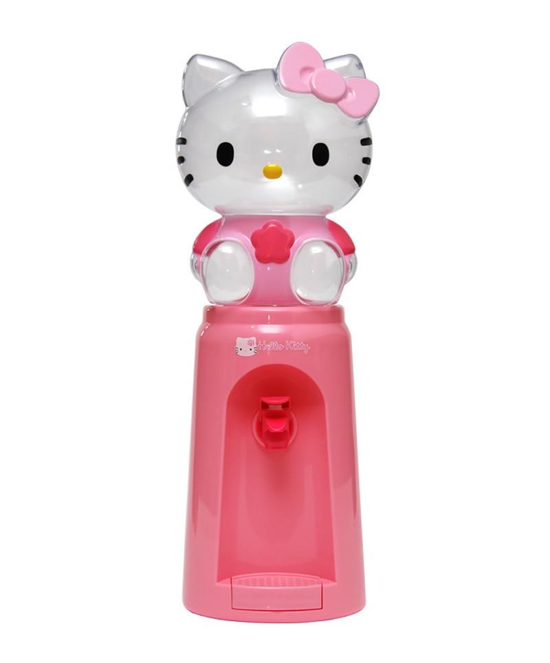 Mini Cartoon Water Dispenser Fountain Drinking 8 Glasses Hello Kitty Mickey Drinkware Bottle 2 Litres Desk