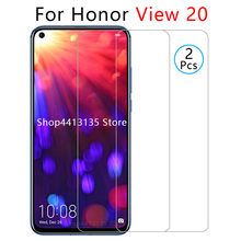 case on honor view 20 case for huawei honor v20 view20 v 20 honorv20 back cover cases protective phone coque tempered glass 6.4(China)