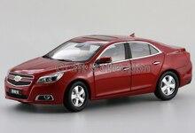 Red 2014 1/18 Chevrolet Chevy Malibu Alloy Model Car Brinquedos Die Casting Parts