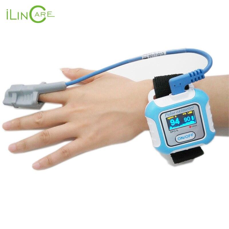 Handgelenk puls meter Bluetooth pulsoximeter SPO2 oximetro de dedo tragbare sauerstoff geräte sleeping Apnea screener pulsioximetro - 3