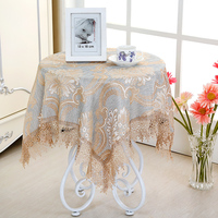 A high cost Circular \Square table cloth towel chair covers cushion backrest restaurant dress soft supple fine lace tablecloth