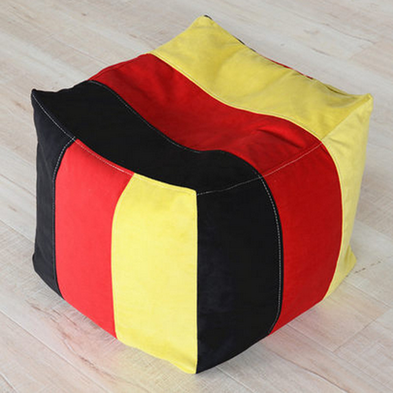 Living Room Sofa Stool Foam Bean Bag Lazy Bag Leisure Bean Cushion lazy sofa bean bag with pedal creative single sofa bedroom living room lazy stool tatami