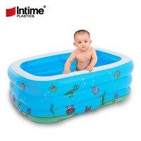 Piscine Bébé De Natation Gonflables Jouets Pour le Bain D'été Grand 7-9 Personnes piscines Écologique PVC Portable