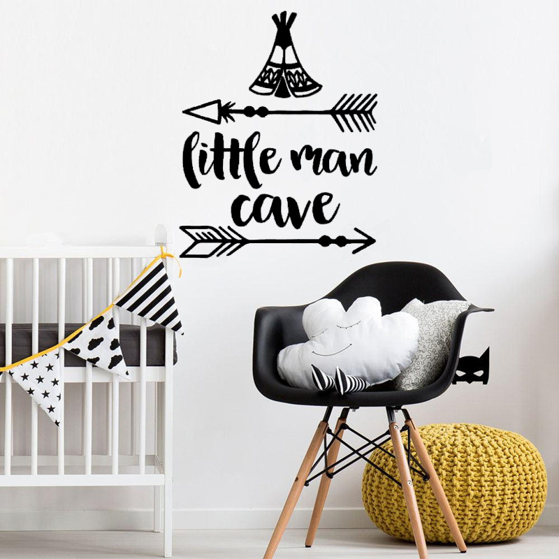 DIY Vinyl Bedroom Decoration Decals Dream Love Hope Believe Arrow ...