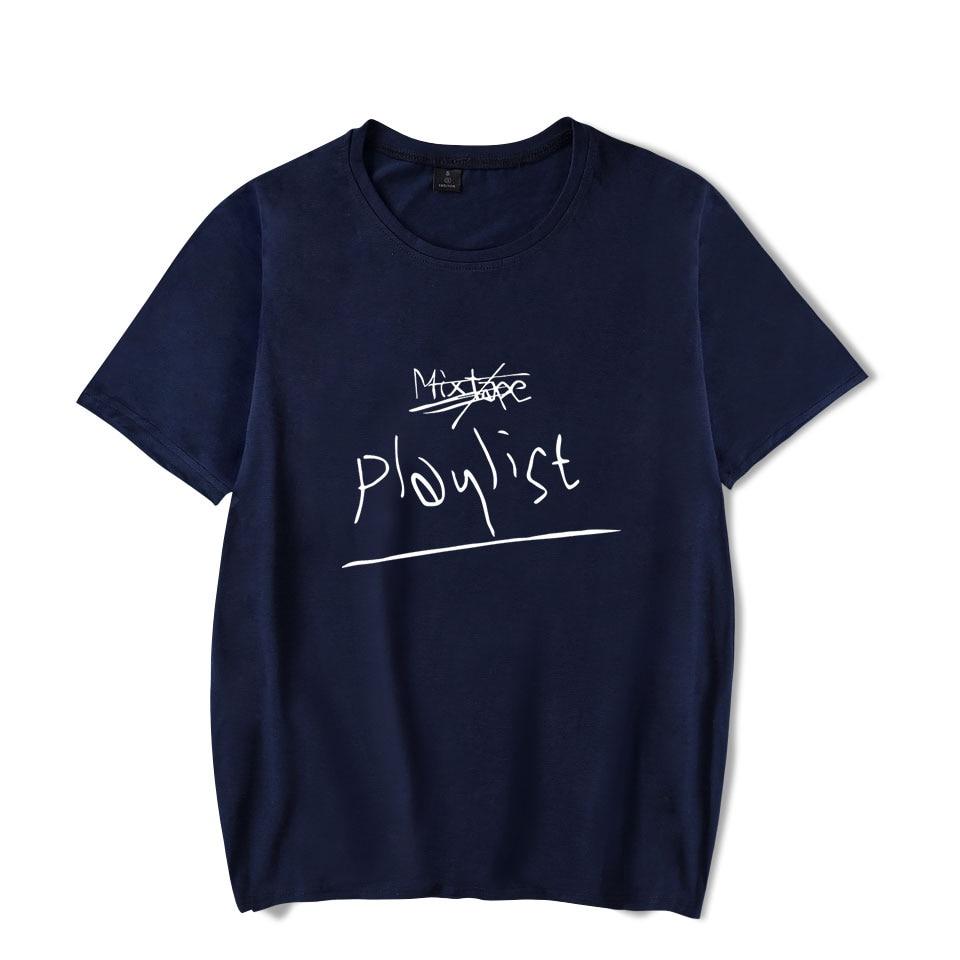 BTS Namjun RM mono Kpop Printed Summer T-shirts Women/Men Short Sleeve Fashion Casual Tshirts Hot Sale Trendy Streetwear Tee Shirt