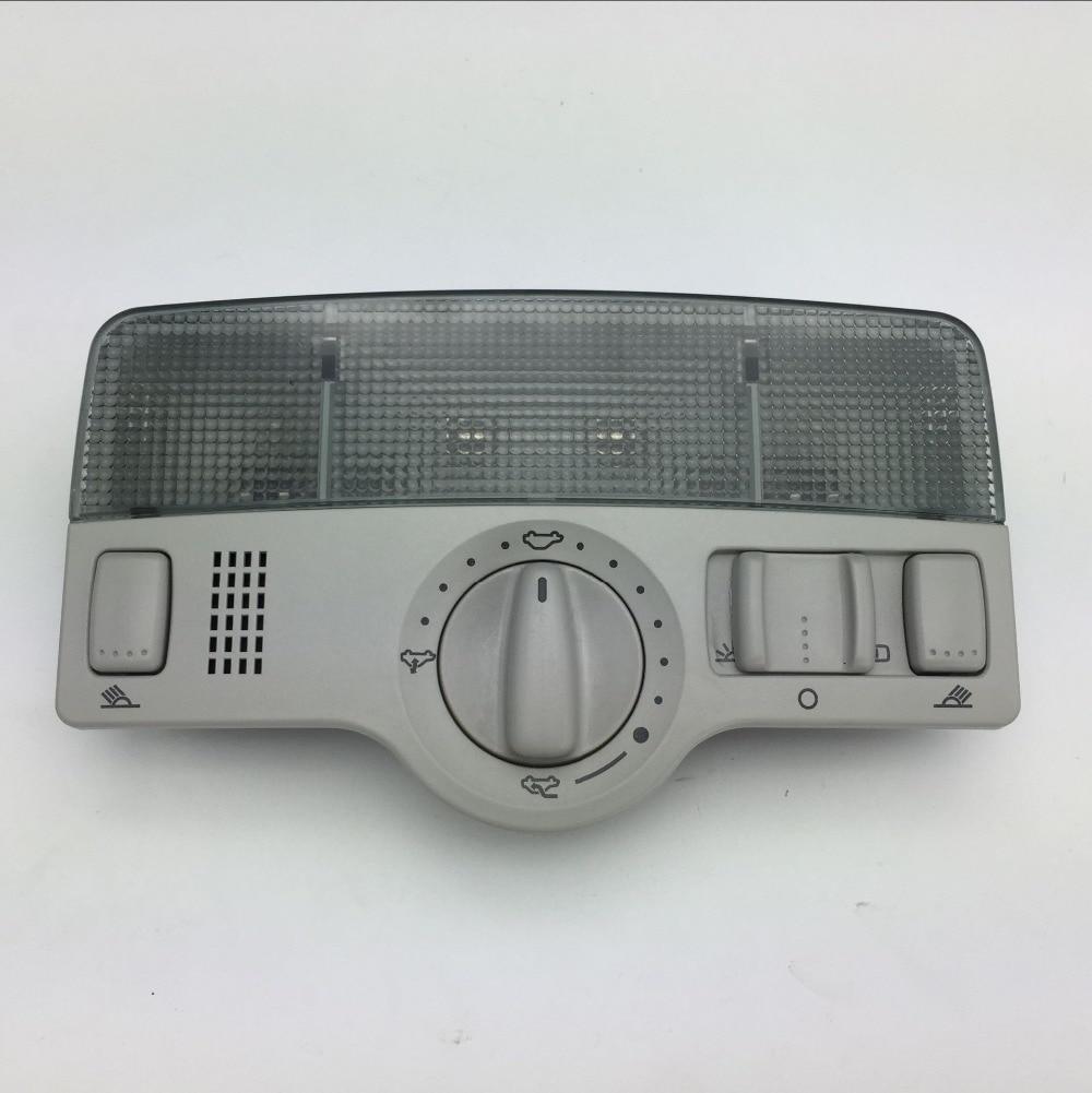 Pour VW Passat B5 Golf 4 Jetta MK4 Bora gris dôme lumière et toit ouvrant interrupteur bouton de lumière de puits de lumière lampe de lecture 1J0 947 105/1J0 959 613G