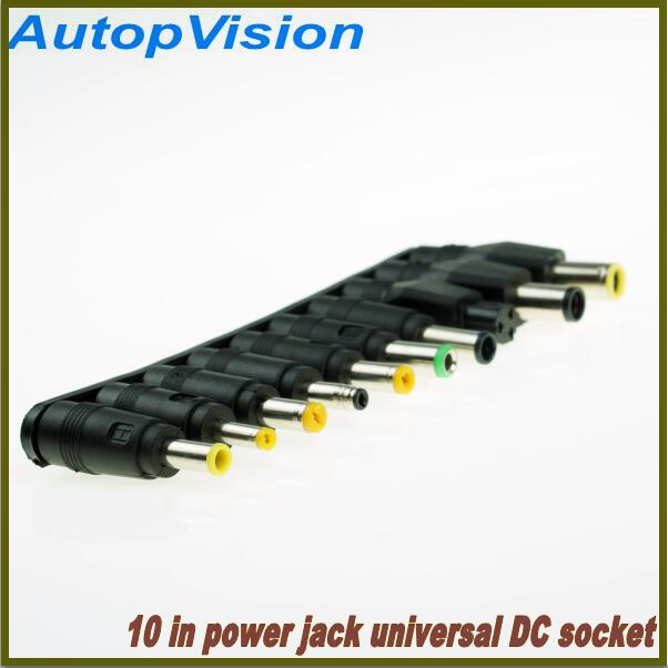 5PCS Universal Tips Notebook DC Power Adapter Socket Plug Connector For Notebook Laptop 10 In DC Socket 5.5x2.1mm