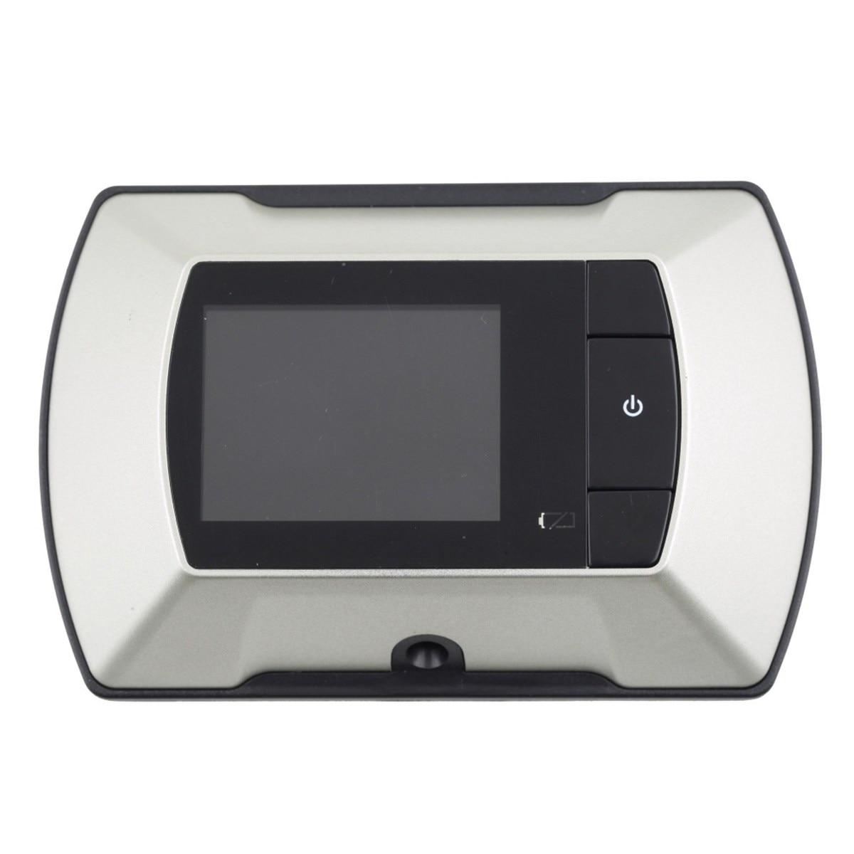 все цены на NEW Safurance 2.4'' LCD Digital Screen Peephole Viewer Door Eye Doorbell Camera Home Security Safety Door Intercom онлайн