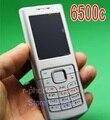 Original refurbished nokia 6500c classic mobile phone 3g desbloqueado celular 6500 y plata y un año de garantía
