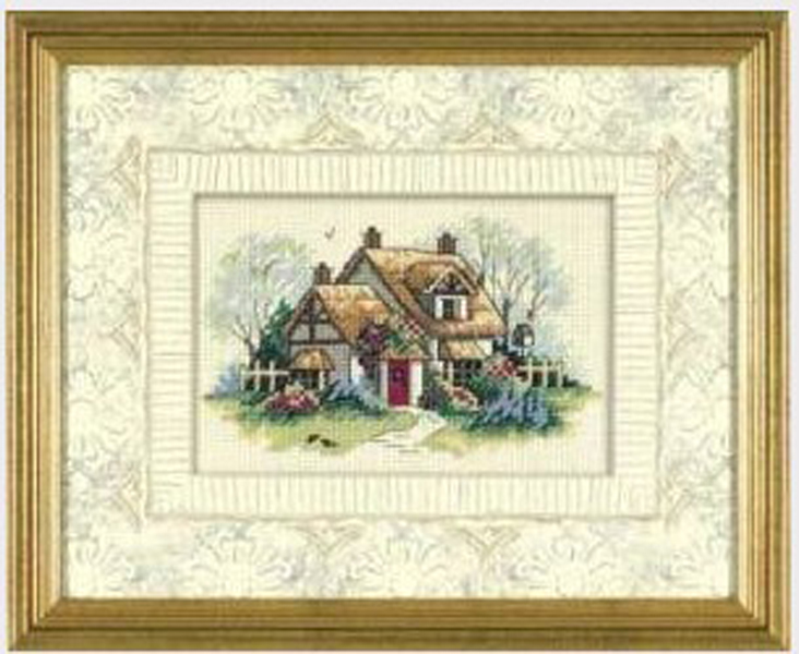 Needlework,DIY Cross Stitch,Sets For Embroidery Kits,11CT&14CT,Country House