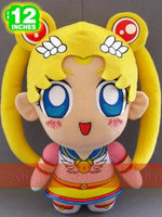 Movies & TV Sailormoon 33cm Pretty Soldier Sailor Moon plush toy about 13 inch cute edition doll gift p890