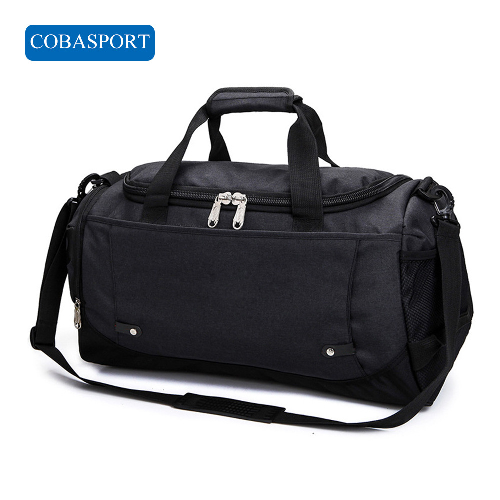 COBASPORT High Capacity Handbag Sport Bag Gladstone Bag Fitness Bags Waterproof For Men And Women Outdoor 51*23*27cmGym Bags