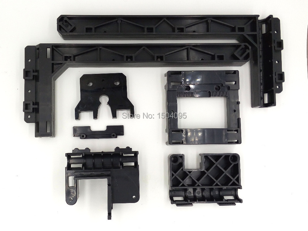1 set Makerbot MK7MK8 New Reprap Prusa i3 Impressora 3D Printer Full Set  Plastic Parts Kit