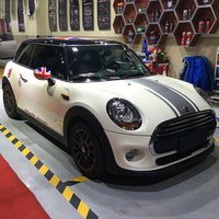 Hood Trunk 3 Stripe Car Stickers And Decals Car Styling Car Styling For Mini Cooper S