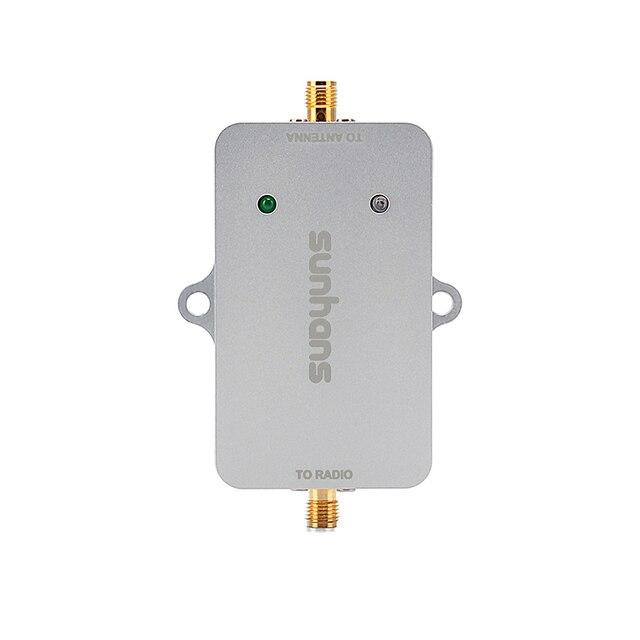 100% Оригинал Sunhans 2 Вт 5.8 ГГц 33dBm Wi-Fi Усилитель Сигнала Повторитель Беспроводной Усилитель БПЛА Wi-Fi Усилитель Сигнала