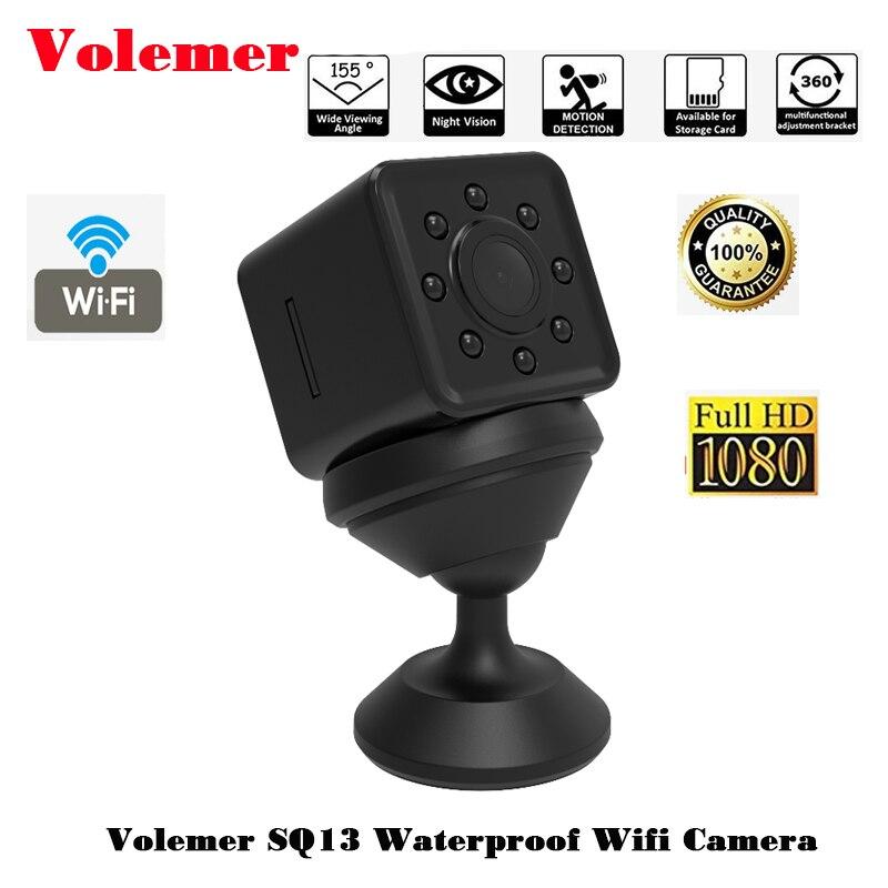 Volemer SQ13 Wifi Micro Caméra Full HD 1080 p Infrarouge Version de Nuit voiture Dvr Voix Vidéo enregistreur carte Flexible Caméra PK SQ12