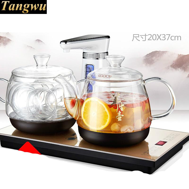 Fully automatic water electric kettle intelligent tea stove hot bubble teapot Safety Auto-Off FunctionFully automatic water electric kettle intelligent tea stove hot bubble teapot Safety Auto-Off Function