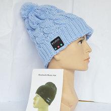 NEW Soft Warm Beanie Bluetooth Music Hat Cap with Stereo Headphone Headset Speaker.