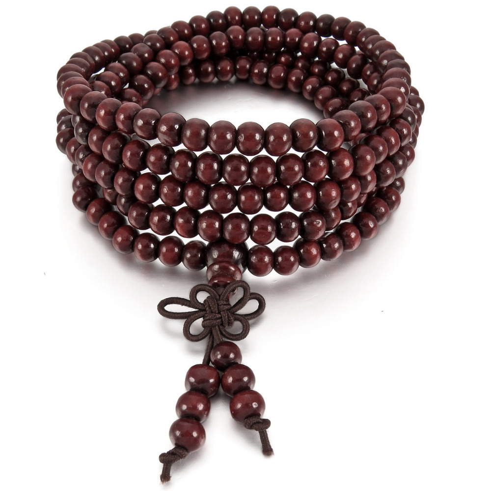 ᐂmen Women S 6mm Wood ༼ ộ ộ ༽ Bracelet Bracelet Link Wrist