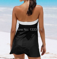 New In Strapless Cover Up Dress Beachwear