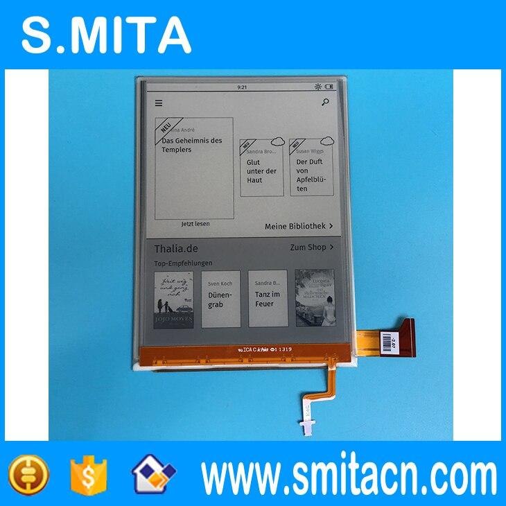 6 pouces e-ink Ebook eReader ED060XG1 (LF) C1 T1 H2 768*1024 HD XGA perle écran pour Kobo Glo lecteur écran