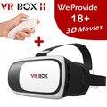 VR 2.0 II Google 3D Стеклянные Очки/VR Очки Виртуальной Реальности случае Картона Гарнитура Шлем Для Мобильного Телефона iPhone 7 6 6 s 5