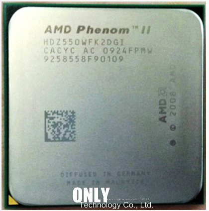 AMD 550 CPU Processor Desktop-Cpu AM3 Phenom-Ii 80w-Dual-Core 1M 938-Pin Socket X2