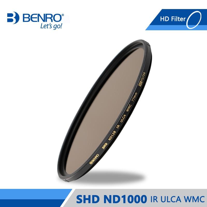 Benro SHD ND1000 IR ULCA WMC Filter High Quality Optics ND Filters Waterproof Anti oil Filter