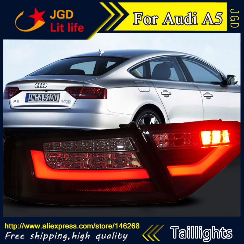 Car Styling tail lights for Audi A5 taillights LED Tail Lamp rear trunk lamp cover drl+signal+brake+reverse car styling tail lights for toyota gt86 led tail lamp rear trunk lamp cover drl signal brake reverse