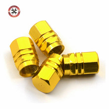 Factory Hot Selling Cover Tires Valves Tyre Stem Air Caps Airtight New 4pcs/pack Theftproof Aluminum Car Wheel with Best Price