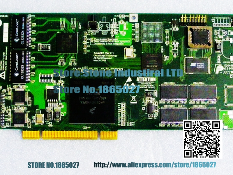 ФОТО SmartE1 Ver 2.1 CST: Z001-PCB-V2.1 communications professional card 100% test
