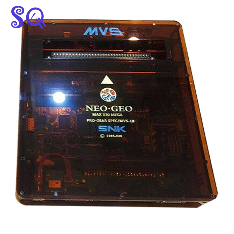 NEW JAMMA <font><b>CBOX</b></font> <font><b>MVS</b></font> SNK NEOGEO <font><b>MVS</b></font>-1B to DB 15P SNK Joypad SS Gamepad With AV RGB Output For NEOGEO 161 in 1 & 120 in 1 Cartridge image